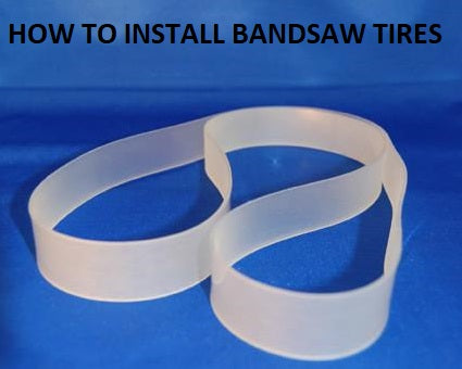 how to install bandsaw tires banner