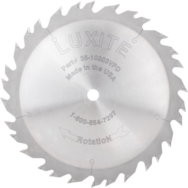 luxite carbide tip rip saw table saw blade