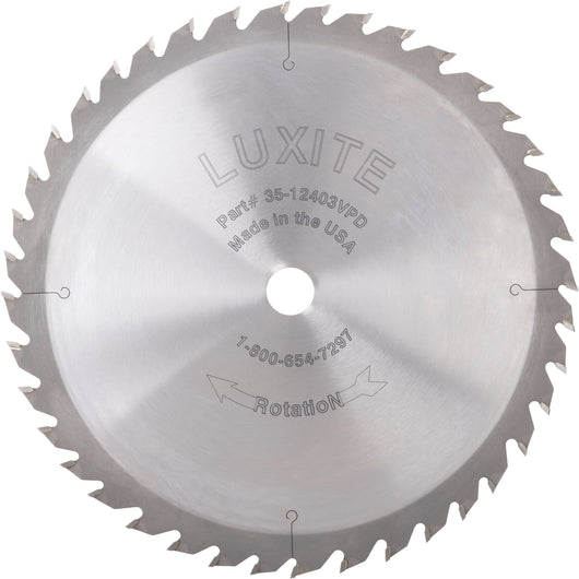 10 12 Carbide Tip Rip Saw Blades For Table Saws Luxite