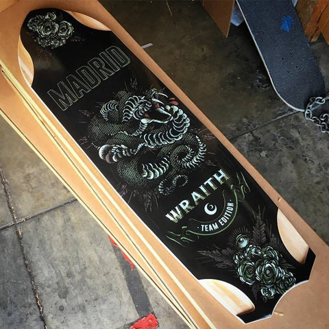 Madrid Skateboards Wraith 2017