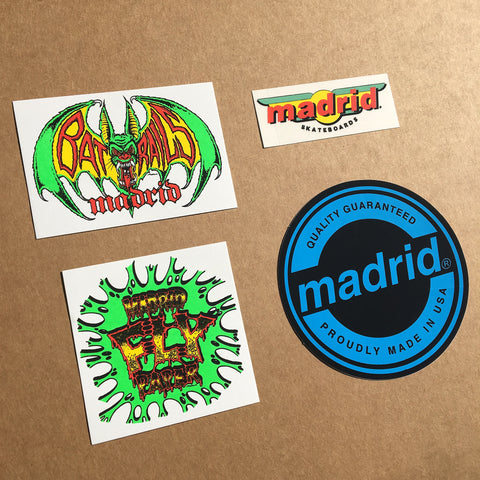 MadMax Retro Stickers