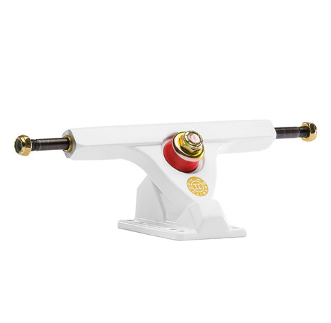 Caliber II 158mm 50° White/Gold Trucks