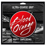 Blood Orange X-Coarse Griptape 4-Pack Black