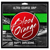 Blood Orange X-Coarse Griptape 4-Pack Green