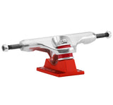 "Caliber Standard 9"" Raw/Satin Red Trucks"