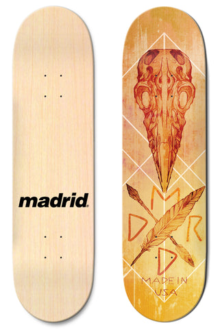 "Madrid Crow 8""/8.25""/8.5"""