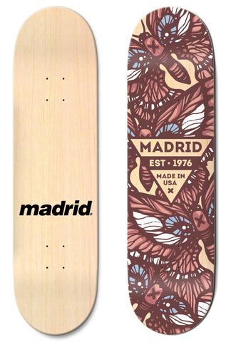 "Madrid Flutter 8""/8.25""/8.5"""