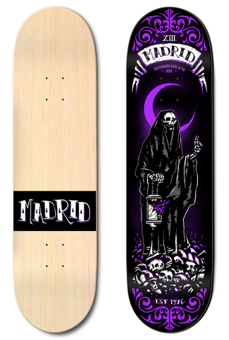 Madrid Augmented Reality Tarot Card Series - Reaper 8.25""