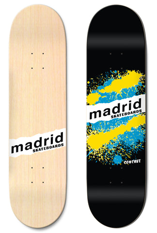 "Madrid Explosion Black 7.75""/8""/8.25""/8.5"" M-Core"
