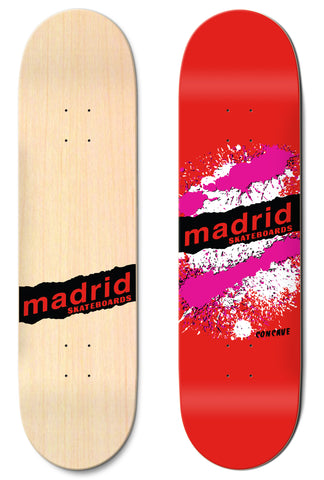 "Madrid Explosion Red 7.75""/8""/8.25""/8.5"" M-Core"