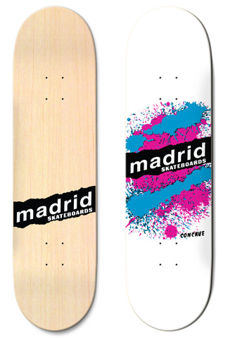 "Madrid Explosion White 7.75""/8""/8.25""/8.5"" M-Core"