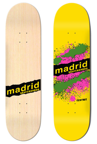 "Madrid Explosion Yellow 7.75""/8""/8.25""/8.5"" M-Core"