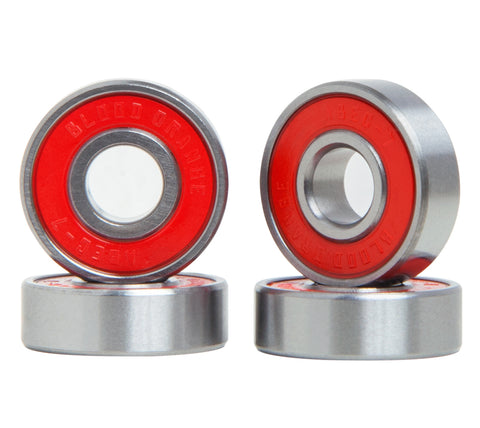 Blood Orange Abec-7 Bearings