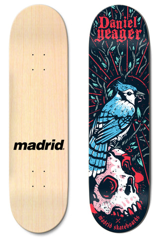"Madrid Daniel Yeager 7.75""/8""/8.25""/8.5"" M-Core"