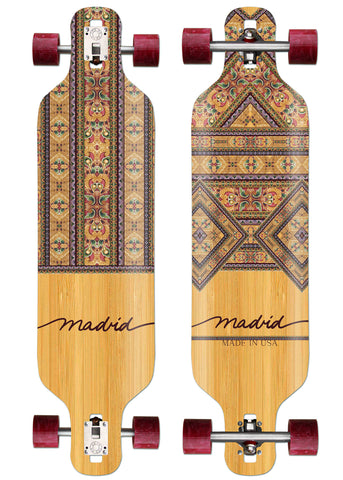 "Madrid Dream 39"" Fabri Bamboo Drop-Thru"