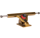 Caliber II 184mm 50° Gangster Gold Trucks w/ Venom Plug Bushings