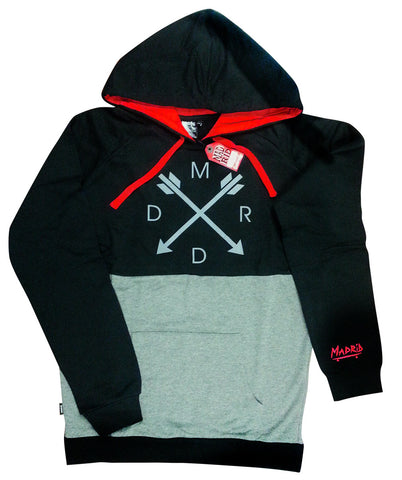 Madrid Kingpin Hoodie - Black/Grey