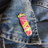 Madrid X Yesterdays Hoverboard Pin