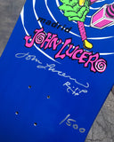 Madrid John Lucero Jester Reissue Blue *SIGNED*