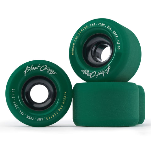 Blood Orange Morgan Pro Series 70mm/80A Midnight Green