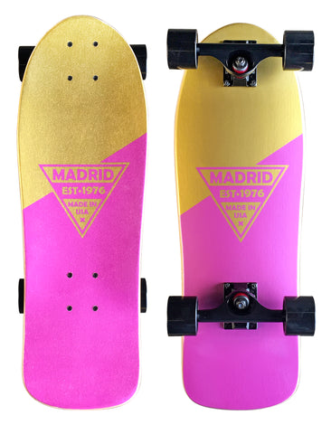 "Madrid Retro Micro Cruiser 24.5"" Pink Gold"