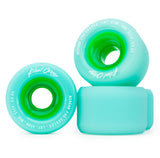 Blood Orange Morgan Pro Series 65mm/80A Seafoam Wheels