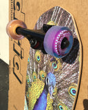 Madrid Factory Exclusive Peafowl Mini Cruiser 25""