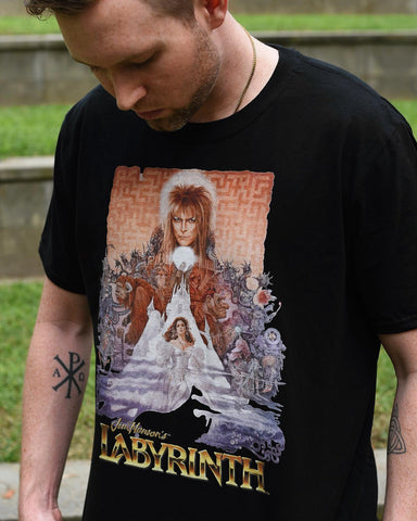 Crashers Corp. x Labyrinth Poster Tee