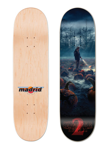 "Madrid x Stranger Things - ST2 Pumpkin Poster 8""-8.5"" Street"