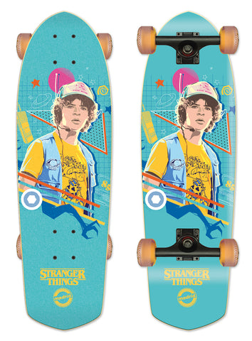 Madrid X Stranger Things 3 - Dustin Blue Cruiser 28.5""