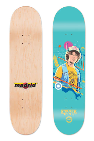 "Madrid X Stranger Things 3 - Dustin Blue 8""/8.25""/8.5"""