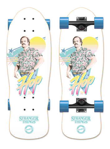 Madrid X Stranger Things 3 - Hop Cruiser 25""