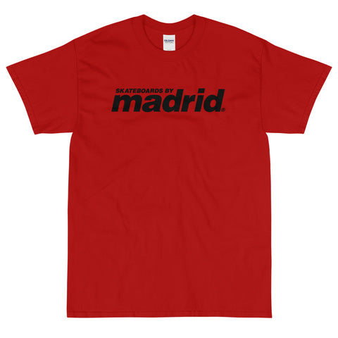 Skateboards By Madrid Shirt Red