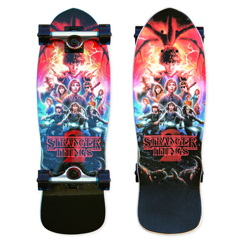 Madrid X Stranger Things - Collage Mini Cruiser 25""
