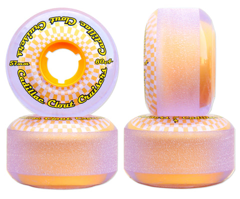 Cadillac Clout Cruisers 57mm/80A Purple/Yellow