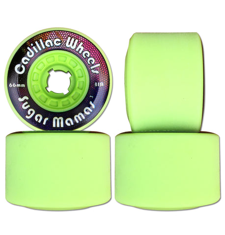 Cadillac Sugar Mamas V3 66mm/81A Lime