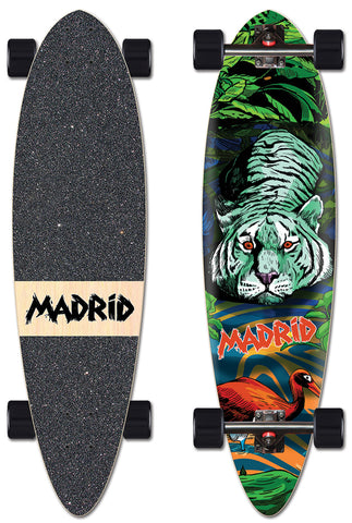 "Madrid Blunt 36.25"" Tiger"