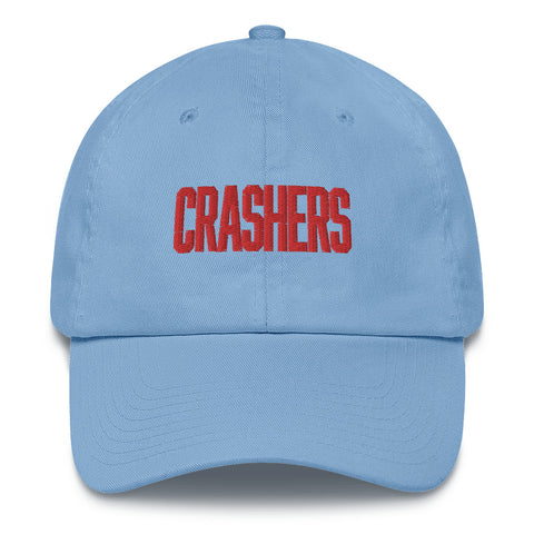 Crashers Corp. Embroidered Corporate Hat Blue