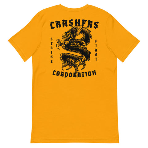 Crashers Corp. Strike First Tee Gold
