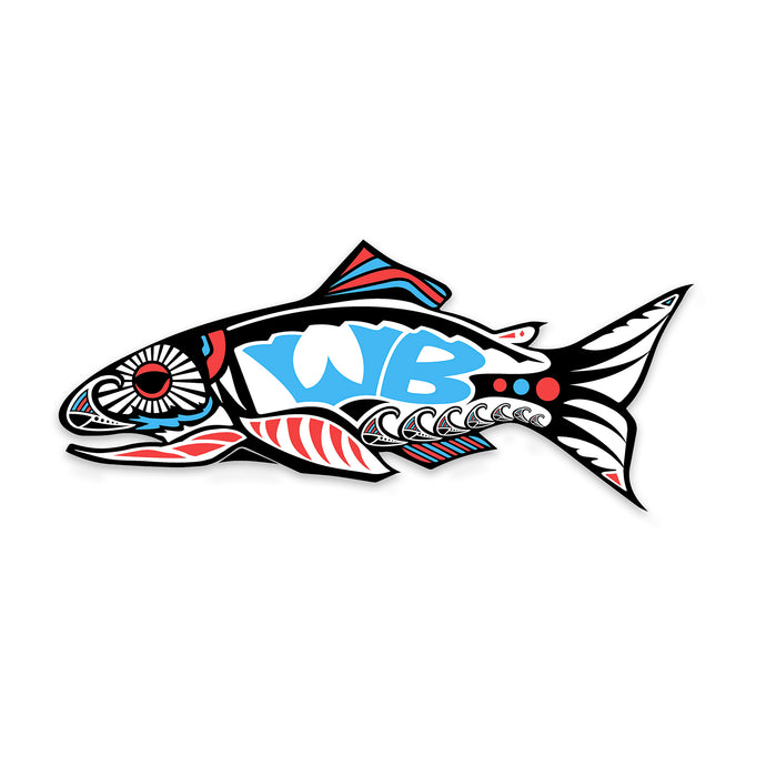 Wake 'N' Bait Sticker