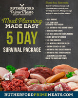 5 Day Survival Package