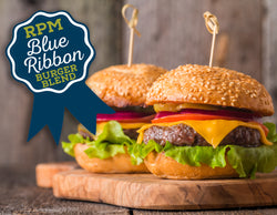 Box of 20: 8 oz Belly Buster Burger - Blue Ribbon Blend