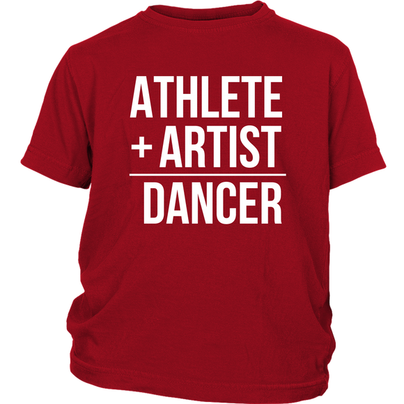 Applause Studio Athlete+Artist youth t-shirt