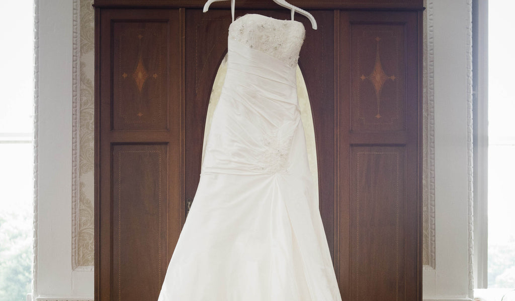 A Wrinkled Wedding Dress...