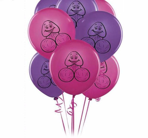 Willy Balloons (10 pack)