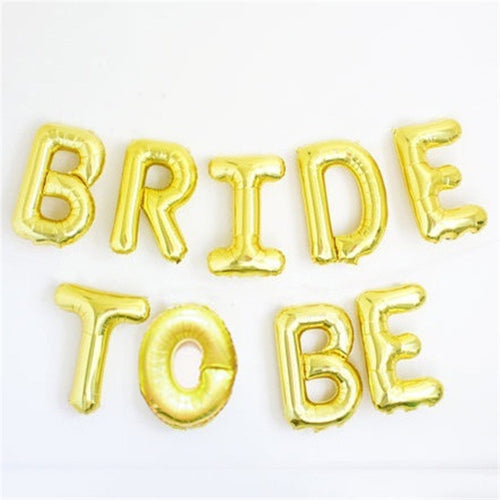 Bride to Be Balloon Set