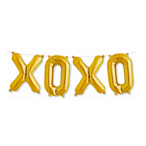 "XOXO Balloon Set (16"" letters)"