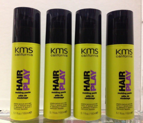 KMS Hairplay Molding Paste 4 Pack 5.1 oz. ***SPECIAL*** - Candybeautynow