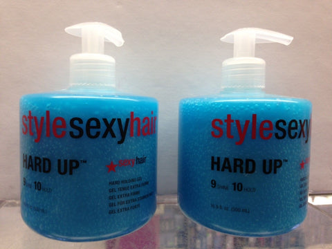 Sexy Hair by Sexy Hair Concepts Short Sexy Hair Hard Up Gel 16 oz  x 2 Units - Candybeautynow