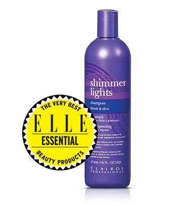 Clairol Shimmer lights shampoo 16oz - Candybeautynow